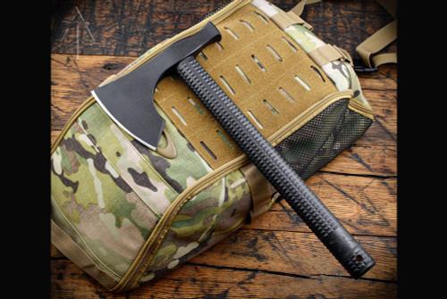 American Tomahawk Company Model 2 Nylon Handle Black w/ Kydex Sheath