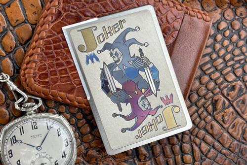 Mummert Knives Silver Joker Card CC-L