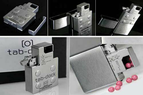 Nissin Industry Tab-Dock For Zippo Replacement Inner Frisk Pill Case