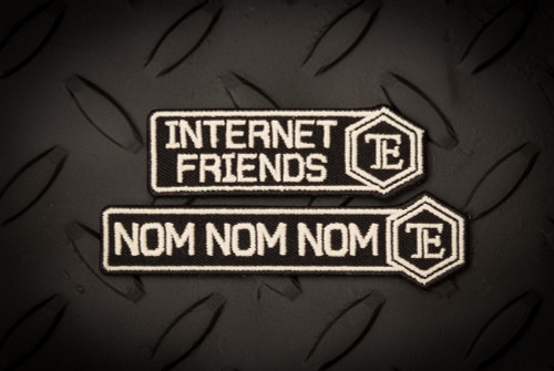 NOM NOM NOM / FRIENDS PATCH SET - DISCO.