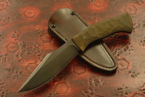 Jason Knight - Custom Kukri Green Textured