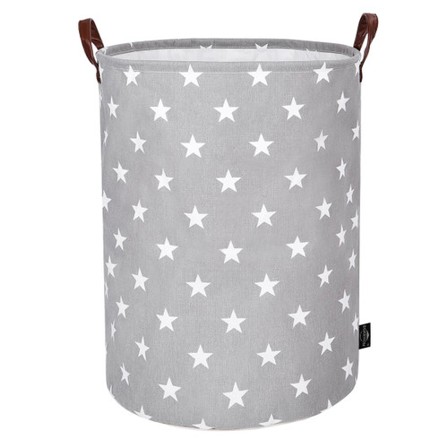 63b2d758fe06 DOKEHOM 22-Inches Thickened X-Large Drawstring Laundry Basket ...