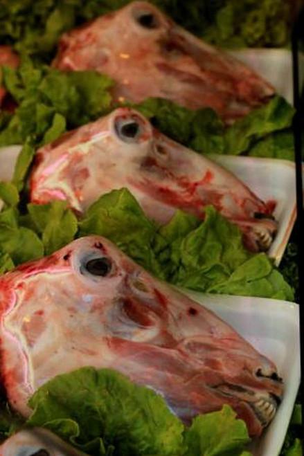 Halal Goat Head - 1 lb