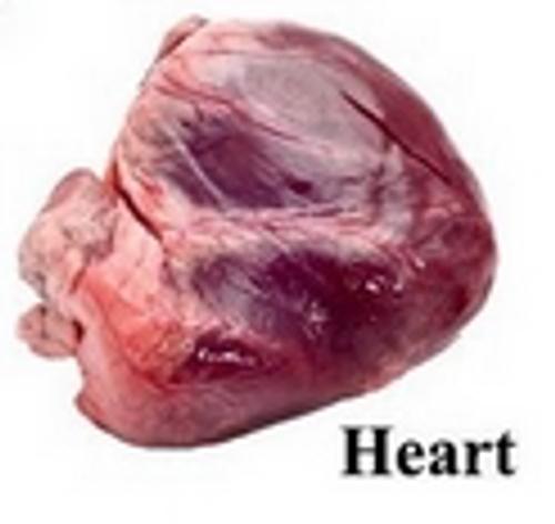 Halal Goat Heart - 1 lb