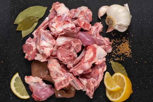 Halal Goat Cutup - 1 lb