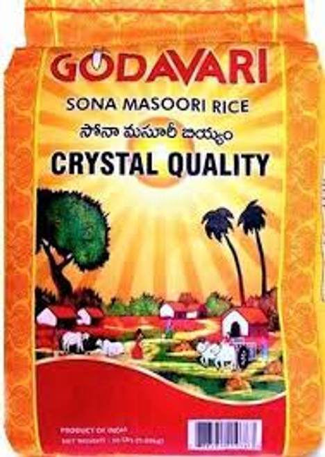 Godavari Crystal Sona Masoori Rice 20lb