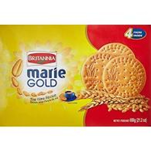 Britannia Marie Gold Tea Time Biscuits Value Pack of 600g