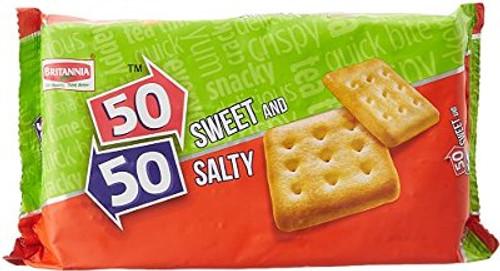 Britannia 50 50 Sweet & Salty 372g