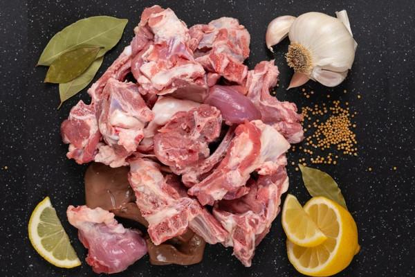 Halal Lamb Cut Up Mix - 1 lb