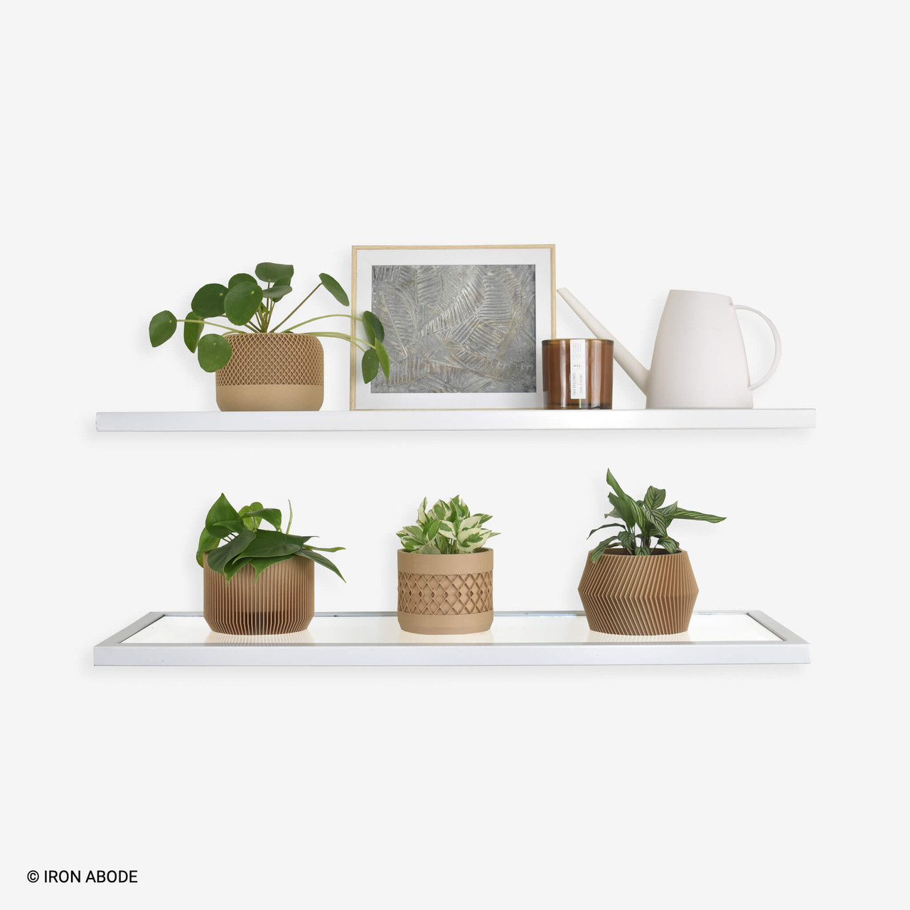 white-floating-glass-shelves-with-decor