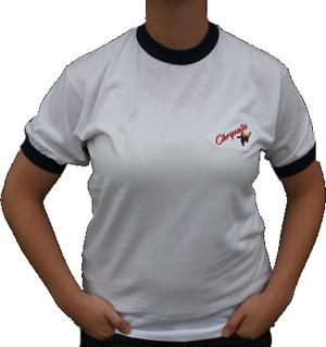 Ringer Chrysalis Tee Shirt Old Logo