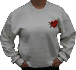 Burning Hearts Sweatshirt Front/Back Design