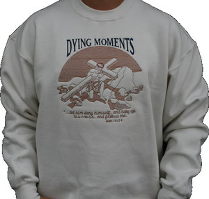 Dying Moments 9oz Tan Sweatshirt