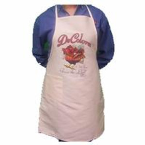 Praise The Lord  1 Pocket Apron Natural