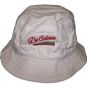 DeColores Bucket Hat White or Khaki
