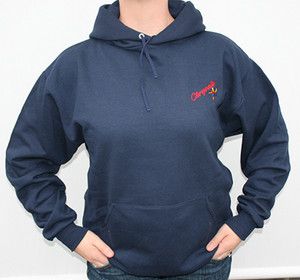 Upper Room Chrysalis Embroidered Hooded Sweatshirt Old Logo