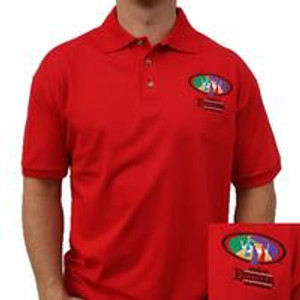Walk To Emmaus Upper Room Design Red Polo