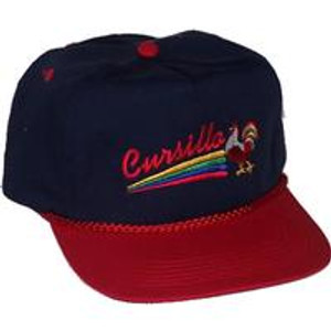 Cursillo Golf Hat Navy/Red