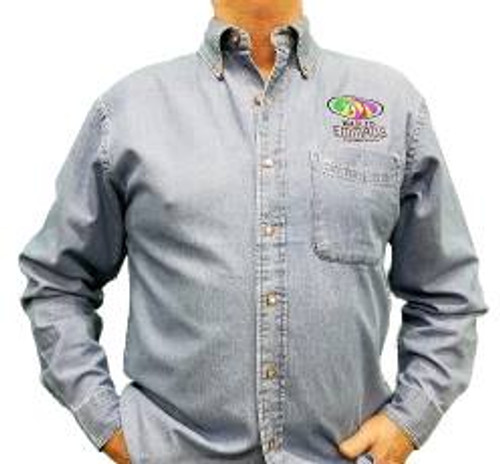Walk To Emmaus Denim Shirts (Long Sleeve)