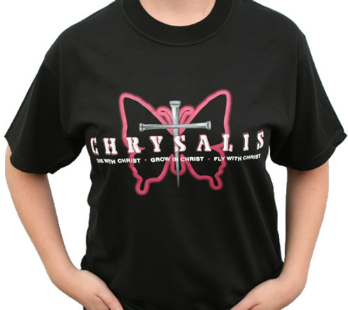 Fly With Christ Chrysalis Tee