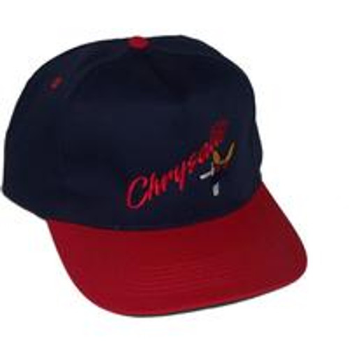 Chrysalis Old Logo Hat Navy/Red