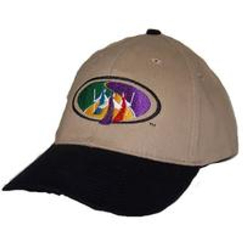 Walk to Emmaus Design Low Profile Hat Tan/Black