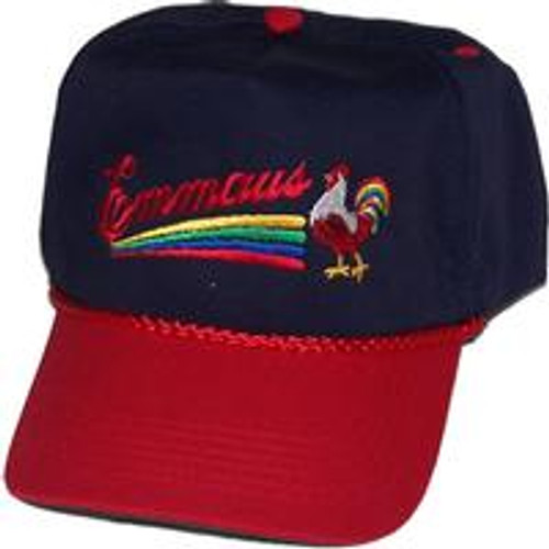 Emmaus/DeColores Golf Hat Navy/Red