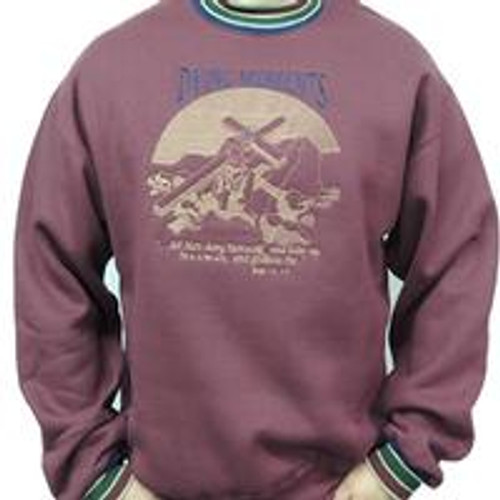 Dying Moments 9oz Maroon Sweatshirt