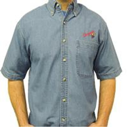 Upper Room Old Logo Chrysalis Denim Shirt (Short Sleeve)