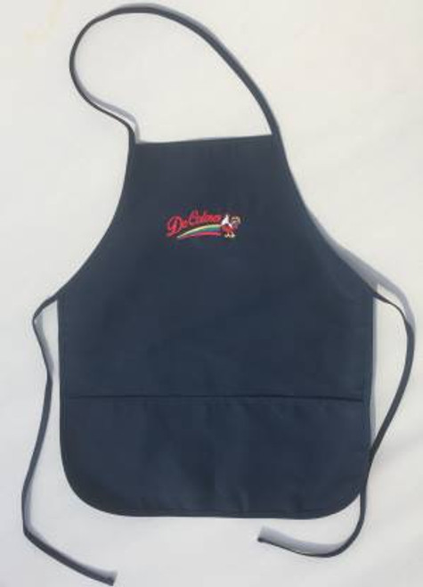 DeColores/Rooster 2 Pocket Apron Navy