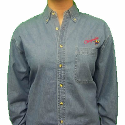 Upper Room Old Chrysalis Logo Denim Shirt (Long Sleeved)