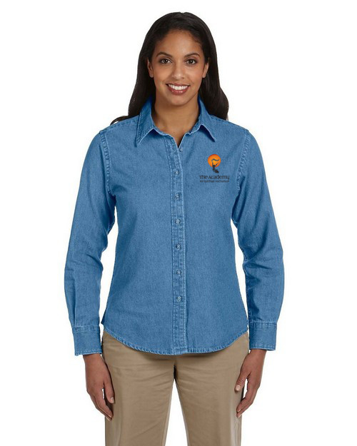 The Academy for Spiritual Formation  Denim Shirt - M550W Women
