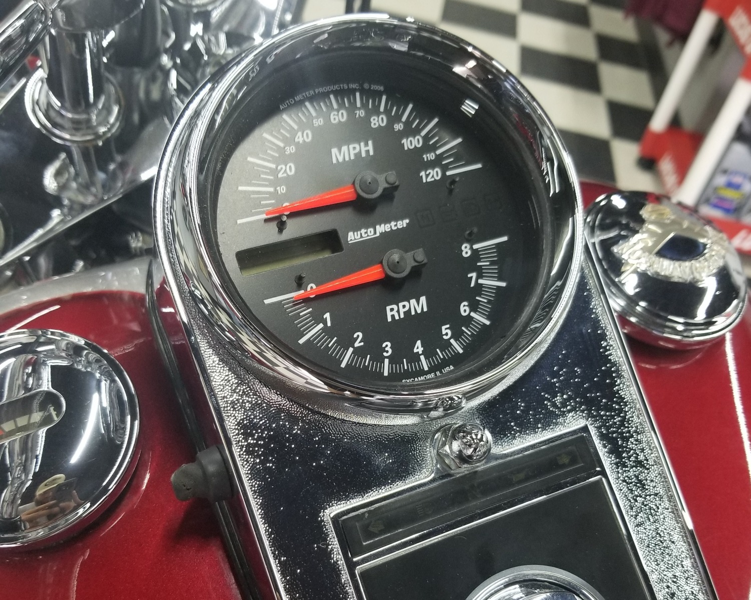 Auto Meter Tach Wiring Pro Cycle Trusted Diagram Direct Fit Speedo19466 Dissident Custom With Shift Light