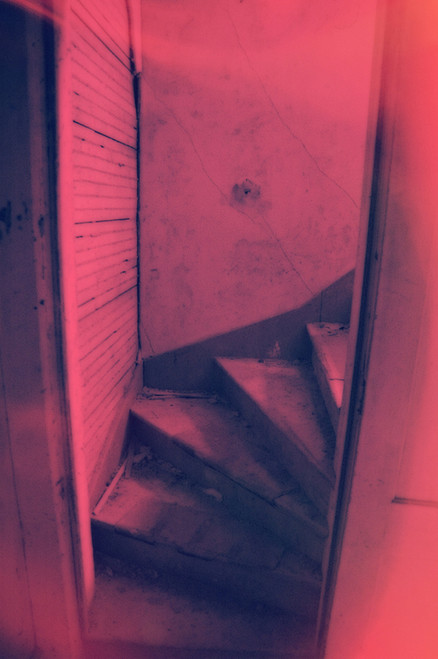 Pink Staircase IR