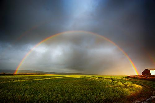 Double Rainbow Storm