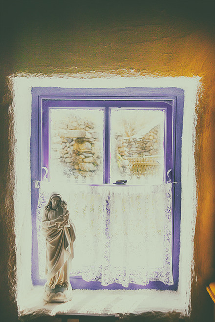 Purple Window Mary