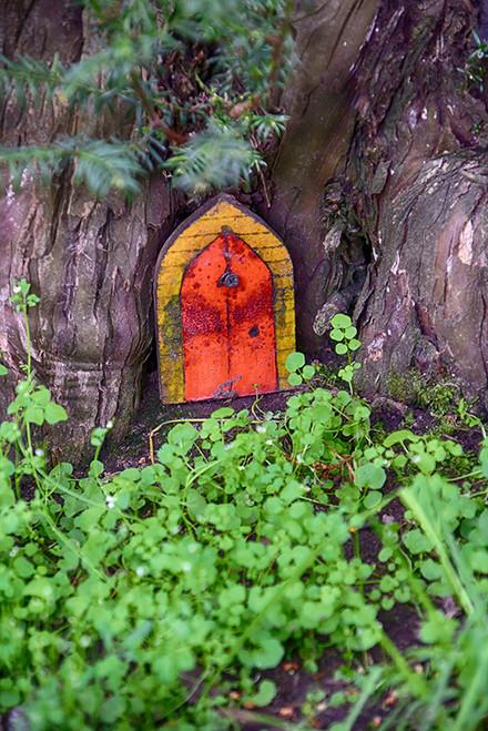 Red Fairy Door