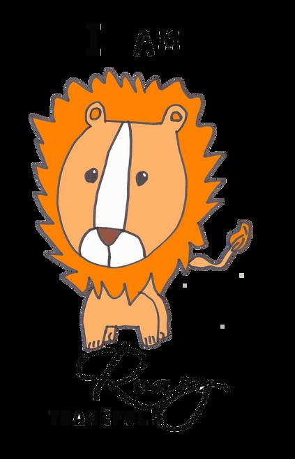 """I Am Roary Thankful"" Lion"