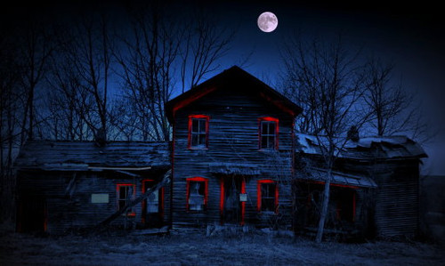 Haunted Red