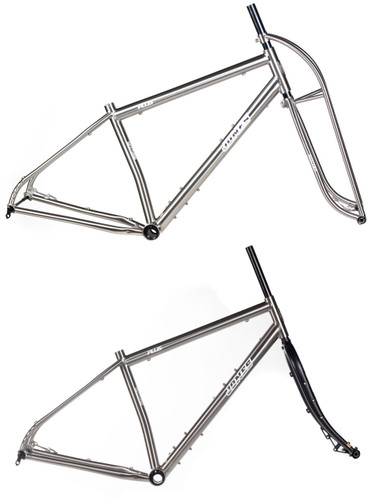 Jones Titanium Plus LWB Diamond Frameset