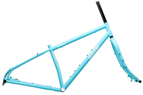 Jones Steel Plus LWB HD/e Diamond Frameset with Unicrown Fork Matte Blue