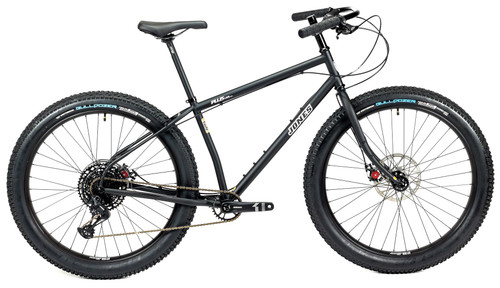 Jones Plus LWB HD/e Complete Bike with Knobby Tires Matte Black