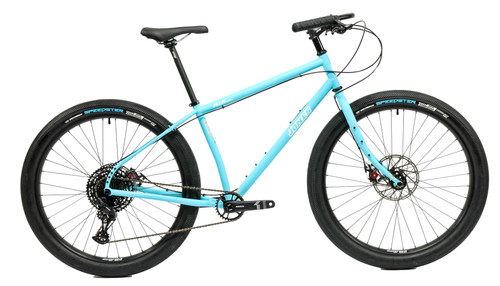 Jones Plus LWB HD/e Complete Bike with Smooth Tires Matte Blue