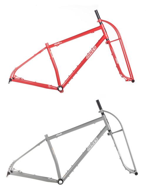 Jones Steel Plus LWB Diamond frameset Steel Truss Fork Limited Colors