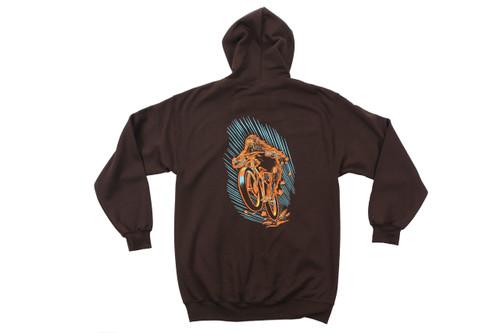 Sweatshirt Jones Sasquatch Hoodie Full Zip (New)