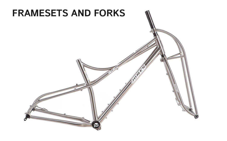 Jones Frameset and forks