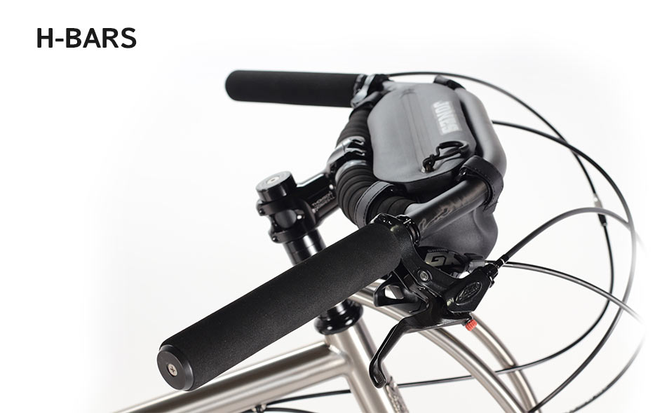 Jones H-bars handlebars