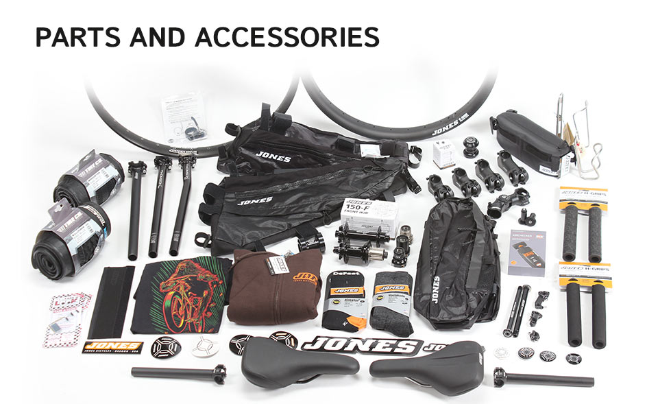 Jones bikes Parts and accessories