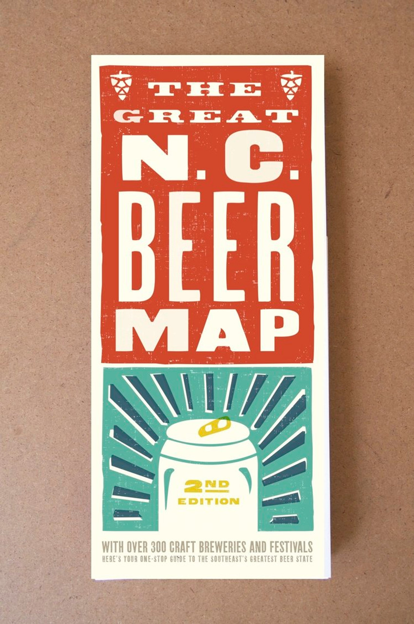 Great NC Beer Map - Pressed - A Creative Space on