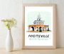 Market House Art Print